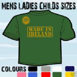 MADE IN IRELAND FUNKY BIRTHDAY T-SHIRT ALL SIZES